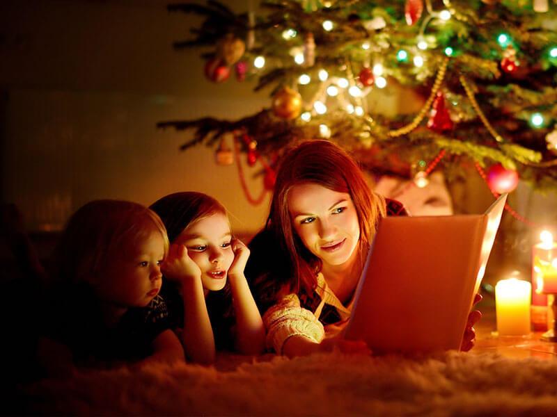 зимові книги дитячі Різдво