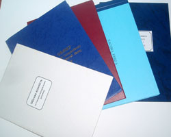 Канцелярські книги, папки