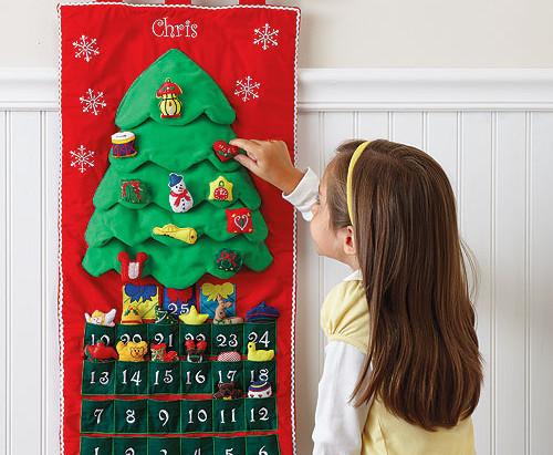 Новорічний адвент-календар своїми руками