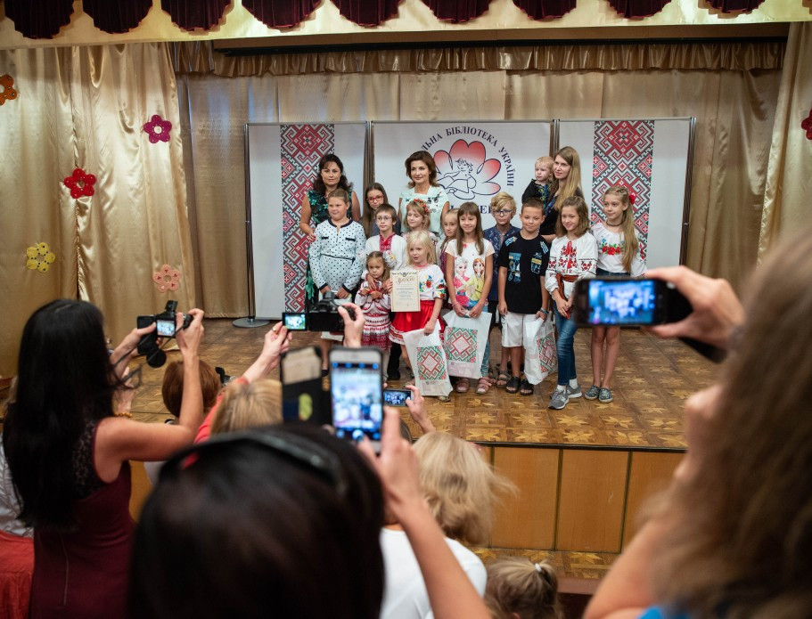Марина Порошенко Книжкові ігри