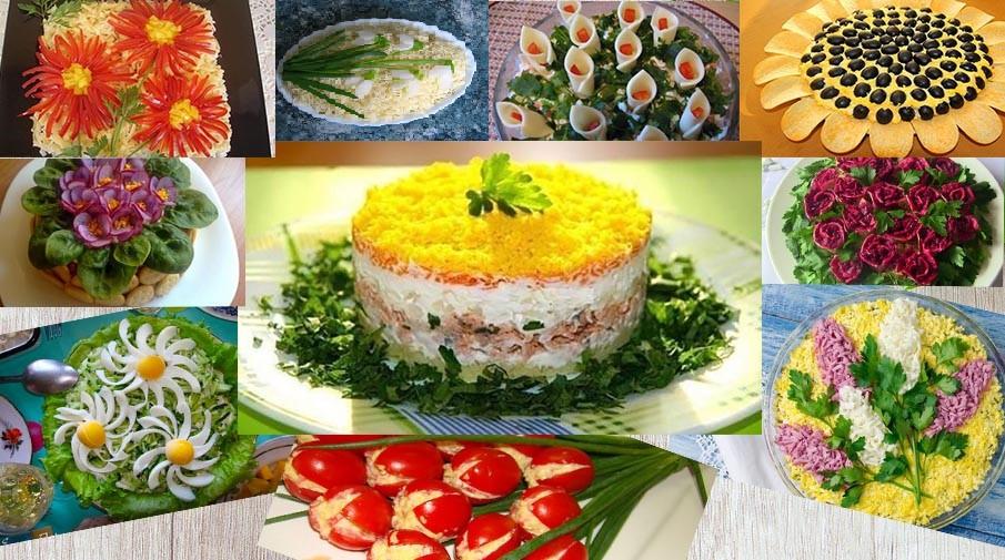 Салати-квіти: ТОП-10 популярних рецептів