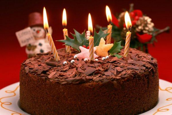Шоколадний торт на Новий рік