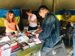 """На """"Книжковому арсеналі"""" продали понад 4 тис. книг ветеранів АТО, волонтерів, переселенців"""