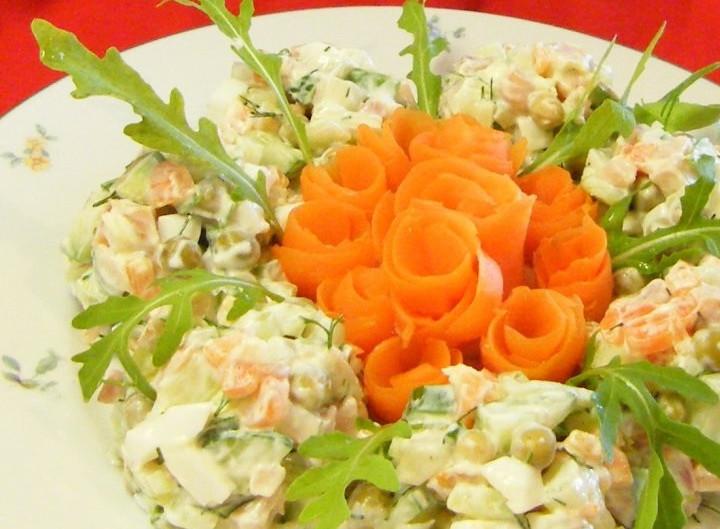 "Салат ""Трояндочки"""