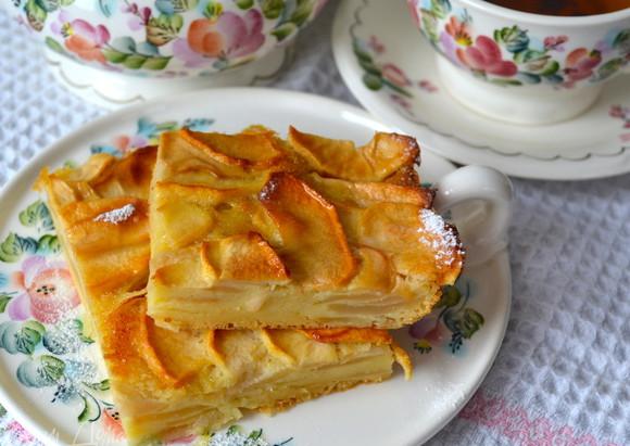 """Французький яблучний пиріг """"Невидимий"""""""