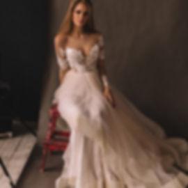кружевные свадебные платья 2020
