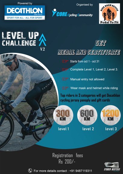 OCTOBER LEVEL-UP CHALLENGE V.2