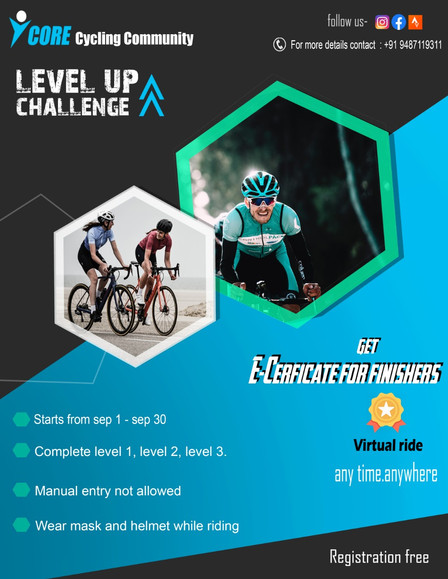 SEPTEMBER LEVEL-UP CHALLENGE