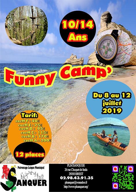 funny camp 8 12 Juillet 2019