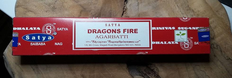 Encens dragon fire Satya