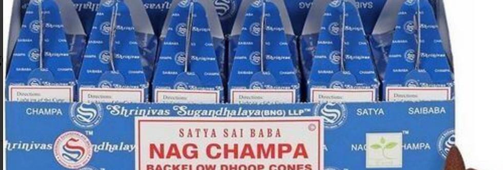 Encens SATYA a refoulement.       Nag Champa