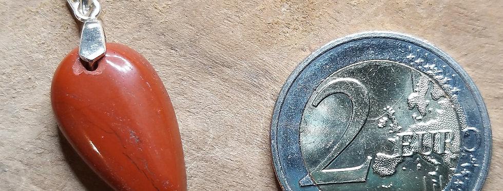 Pendentif Jaspe rouge 10€ ou 13€