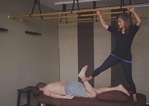 Massage stretching in Durham NC