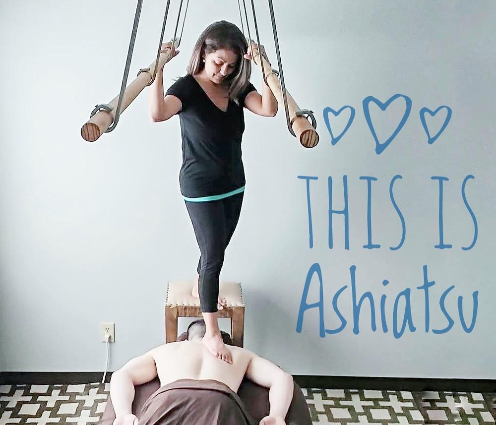 What is Ashiatsu Barefoot Massage in Durham NC?