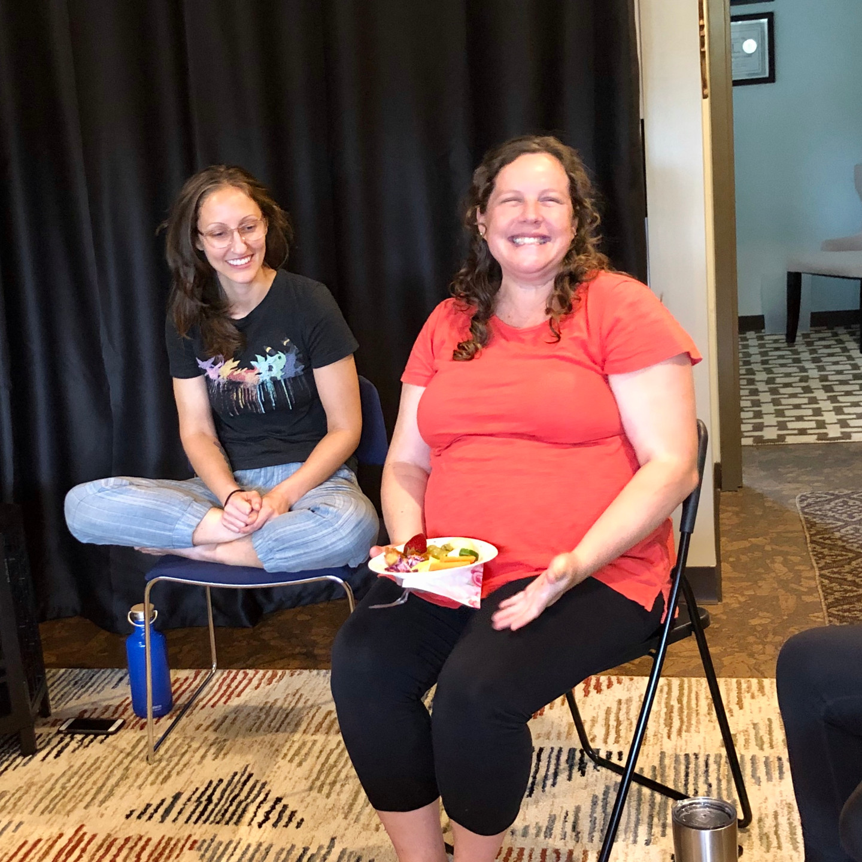 Barefoot massage therapist