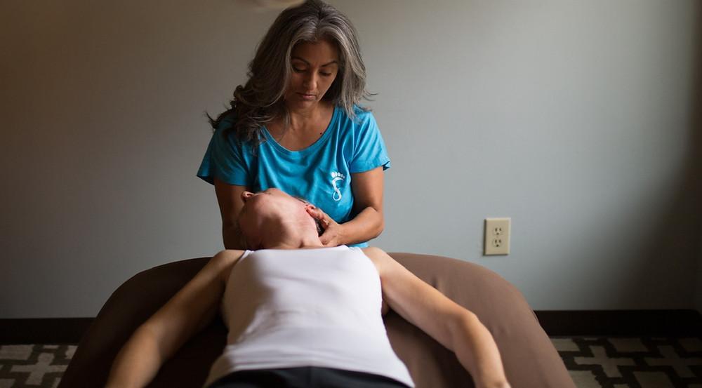 How to Become a Massage Therapist in NC, info featured by NC massage school, NC Ashiatsu Barefoot Massage Training