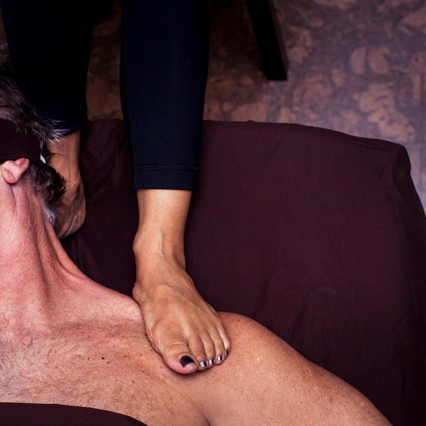 Ashiatsu Barefoot Massage Certification