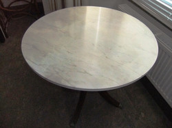 An MDF table, Queen's Park