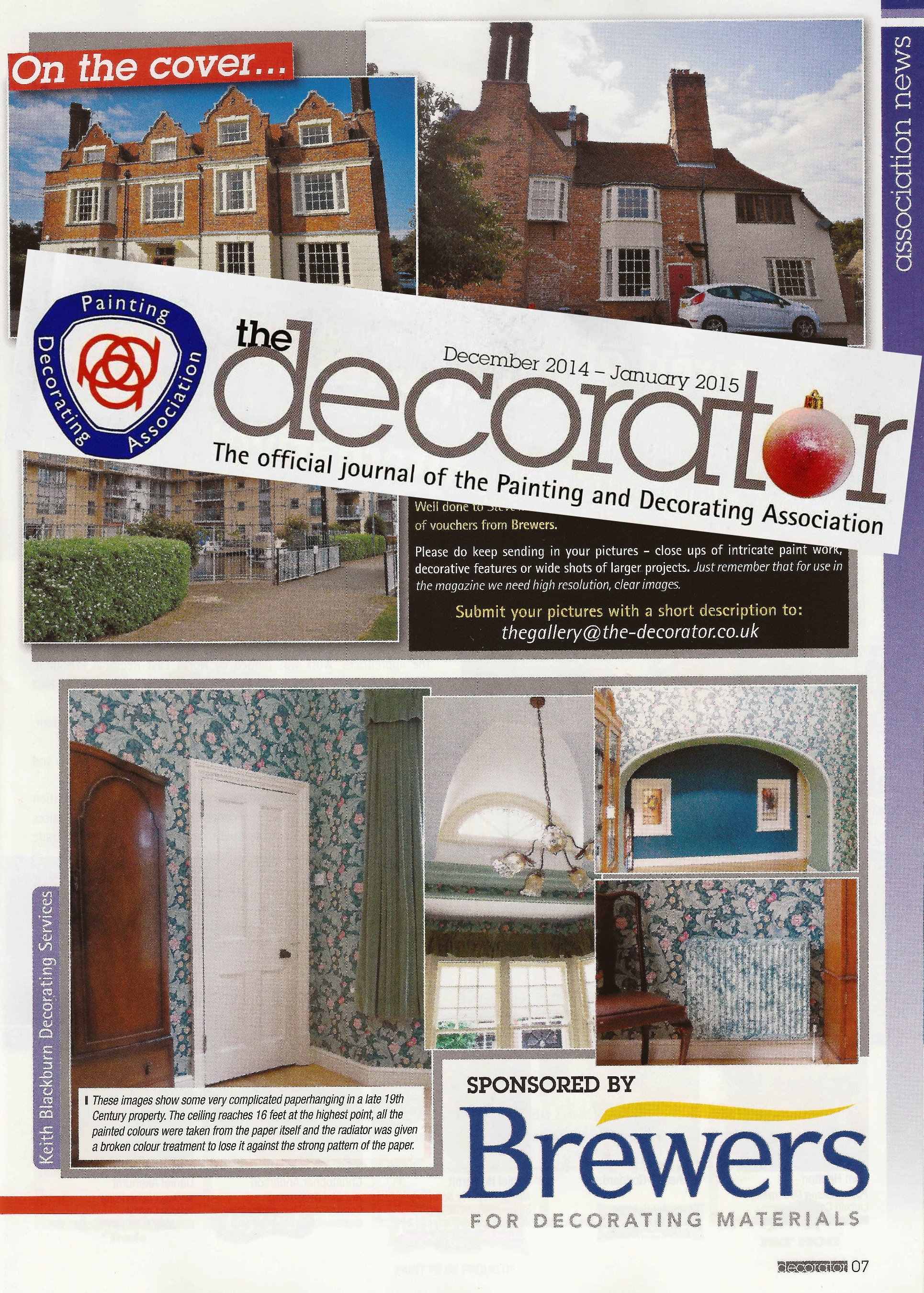 Decorator magazine.