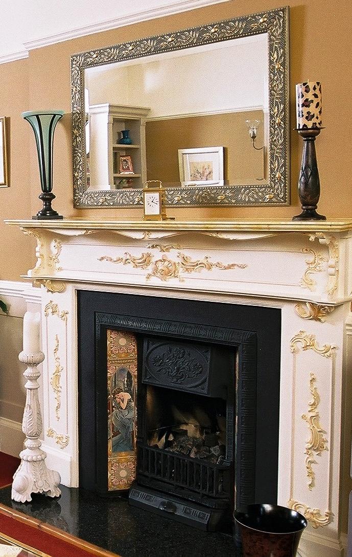 An Enfield fireplace