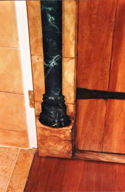 Door and marble detail
