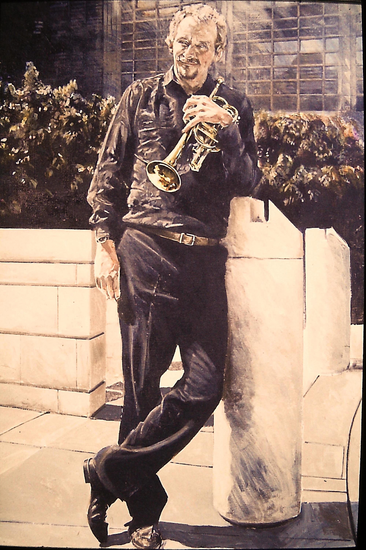 Portrait of Digby Fairweather