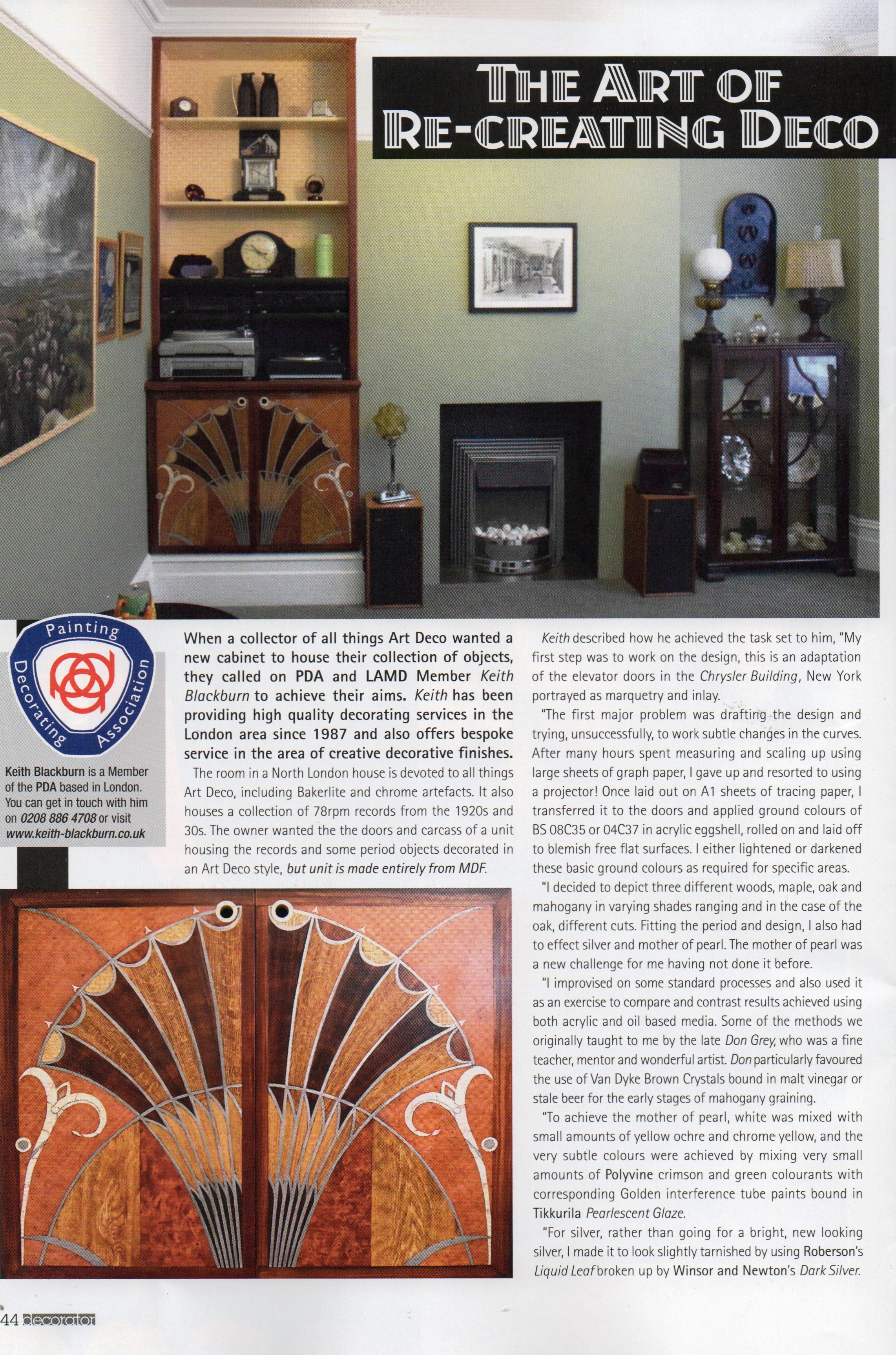 The Decorator magazine April_May 2019