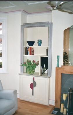 MDF bookcase.