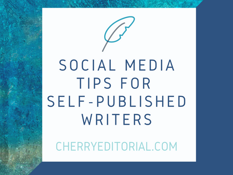 Social Media Tips for Self-Published Writers