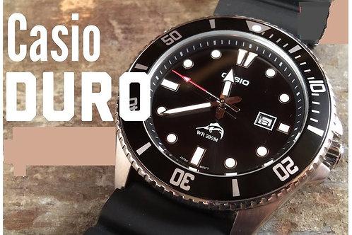 Relógio Casio Sports Pulseira De Resina Sea Duro Marlin Mdv106-1a 200m