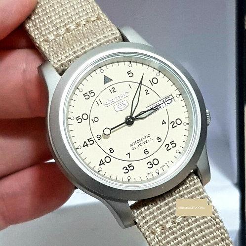 Relógio Esportivo / Militar Automático Seiko Snk803 K2 21 Joias