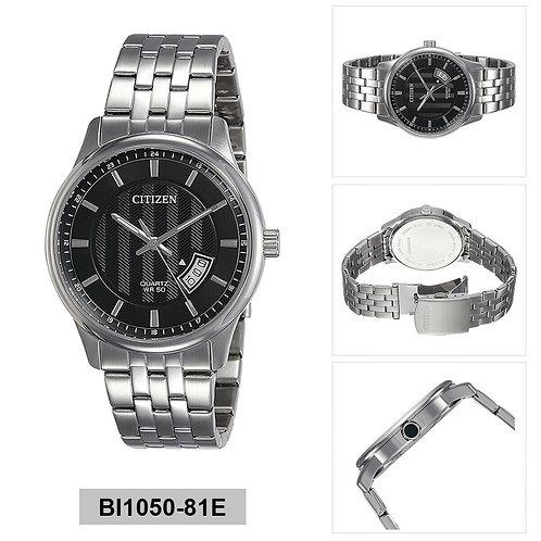 Relógio Pulseira De Aço Citizen Quartzo Analógico - Digital Bi1050-81e
