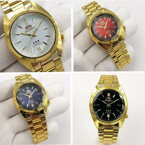 Relógio Pulseira De Aço Quartzo Primeira Linha 30m Omdh23 Tipo Orient
