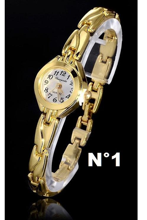 Relógio Fino Feminino Chaoyada Dourado
