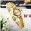 Thumbnail: Relógio Fino Feminino Chaoyada Dourado