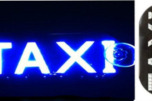Luminoso Táxi Uso Interno Placa 45 Leds Com Ventosas V. Cores e Modelos