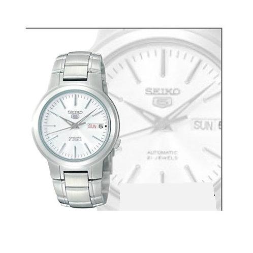 Relógio Automático Seiko 5 Snka01k1 21 Joias Aço Inoxidável