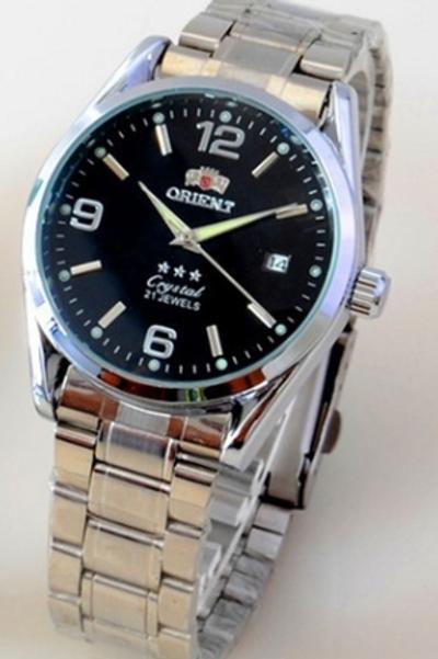Relógio Pulseira De Aço Automático Primeira Linha 30m Tipo ORIENT S206