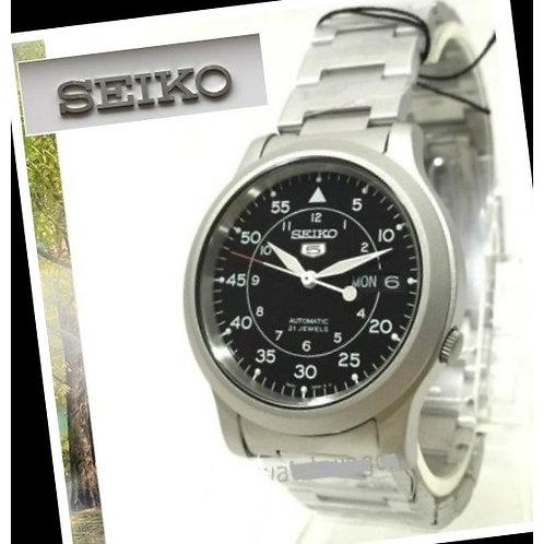 Relógio Esportivo / Militar Automático Seiko Snk809 K1 21 Joias