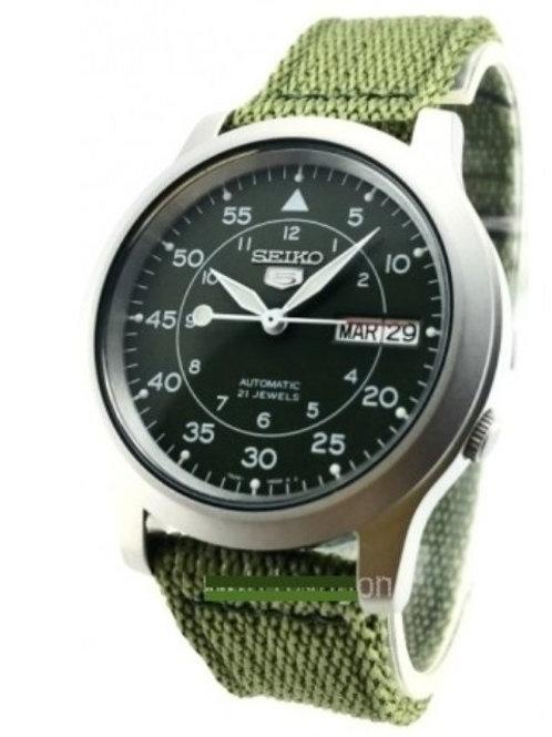 Relógio Esportivo / Militar Automático Seiko Snk805 K2 21 Joias