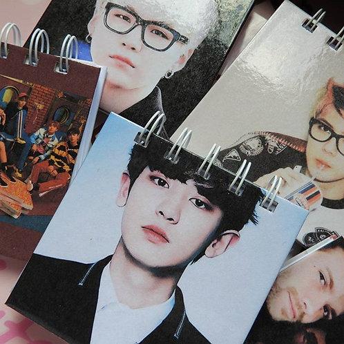 mini libretas K-pop