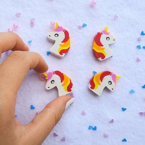 mini borradores unicornio