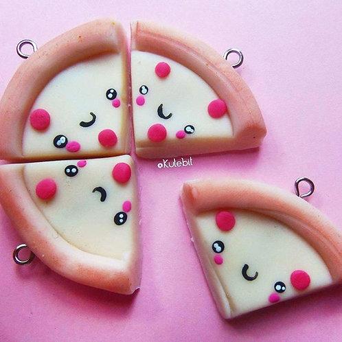 Pizza lovers, collar de amistad