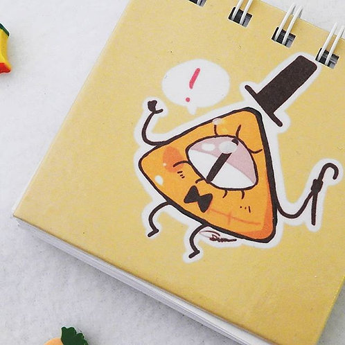 mini libreta Bill (Gravity Falls)