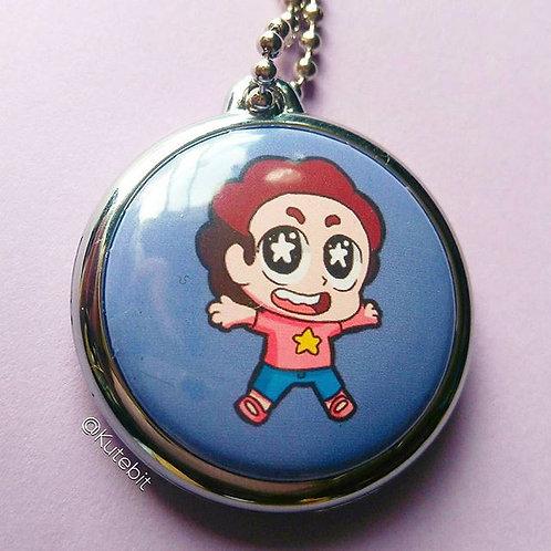 Collar Steven Universe individual (Round Silver)
