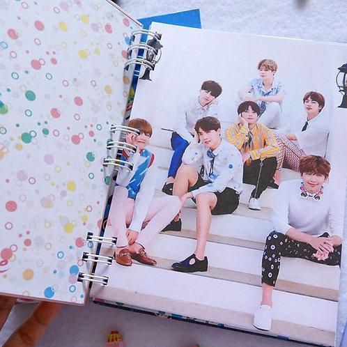 Cuaderno pequeño handmade