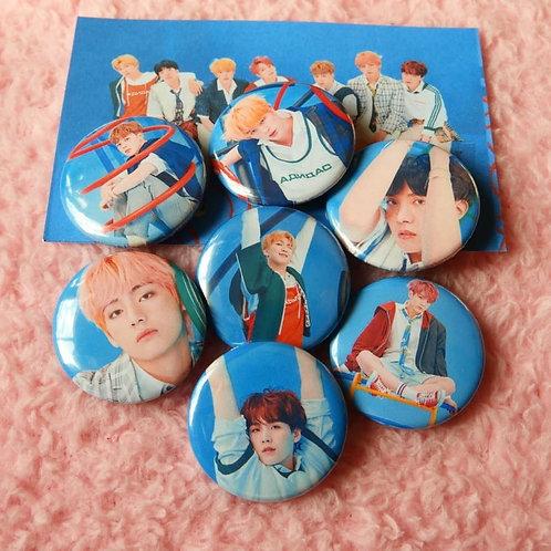 Colección de botones Kpop LY: ANSWER
