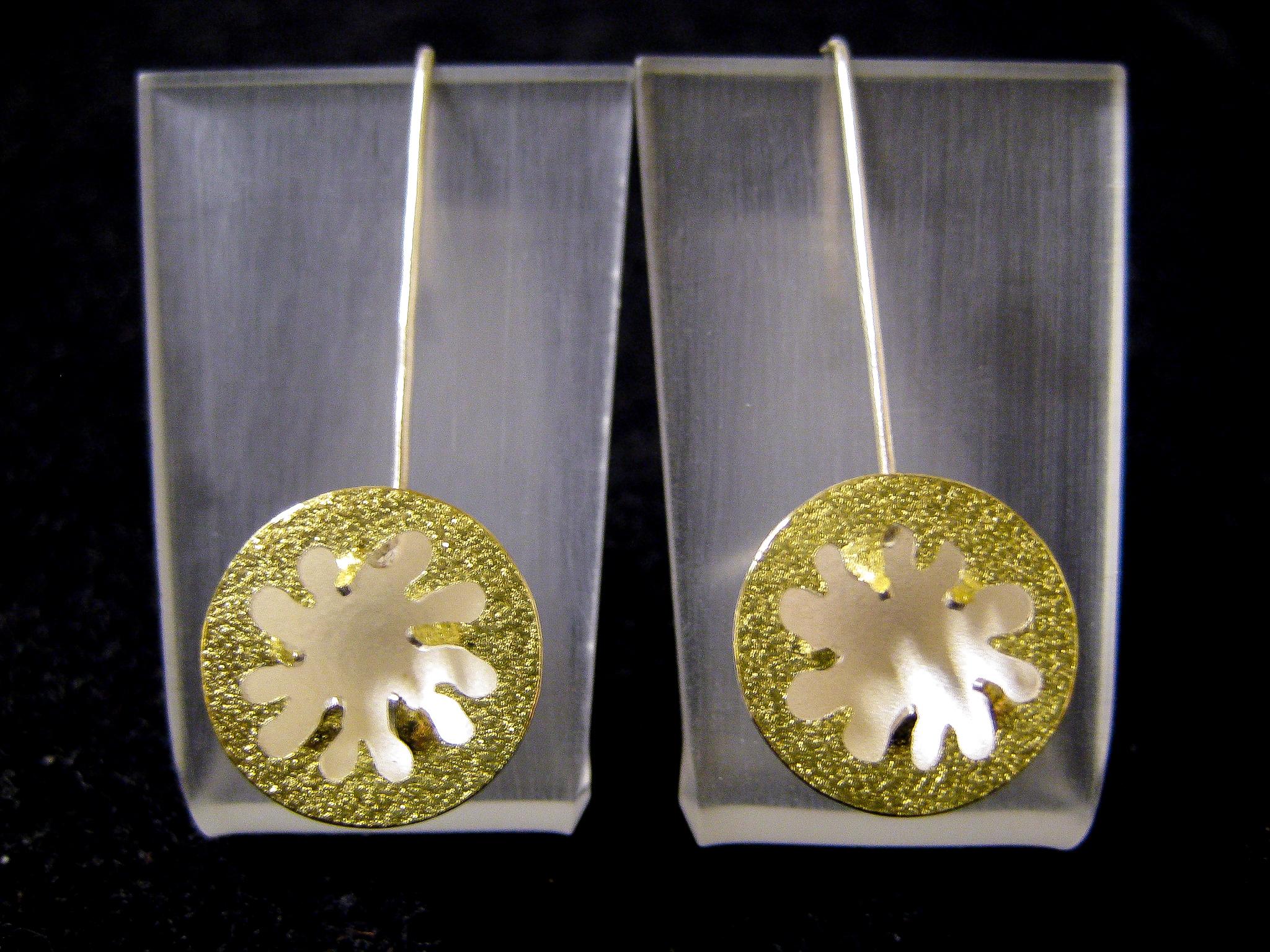 Sea Anemone Earrings III