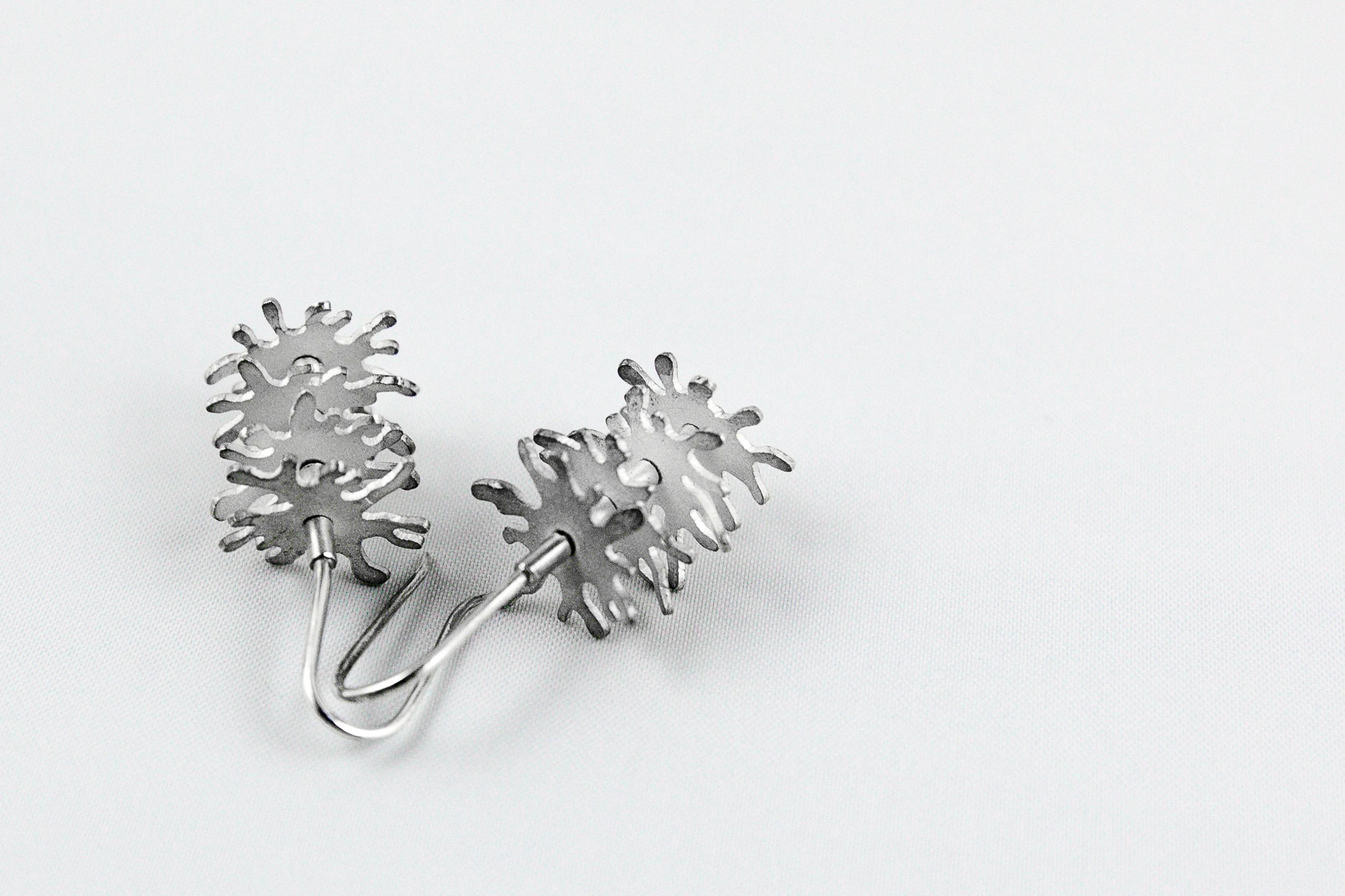 Sea Anemone Earrings I