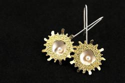 Sea Anemone Earrings IV